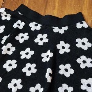 Forever 21 Flower Skater Skirt